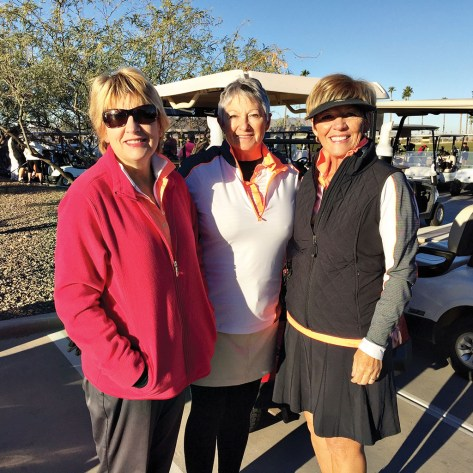 Thank you to all the volunteers! Shown here are Teresa Baxter, Lorna Watts and Sue Waibel.