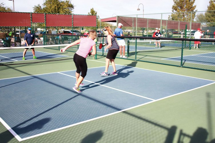 Pickleball for charity