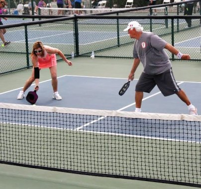 Mixed Doubles Team: Brenda Kline and Gary Christensen