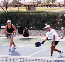 Mixed Doubles Team: Brenda Amans and Jeff Hamrlik