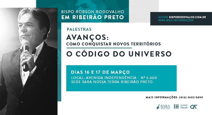 Neste final de semana Bispo Rodovalho ministra palestras em Ribeirão Preto