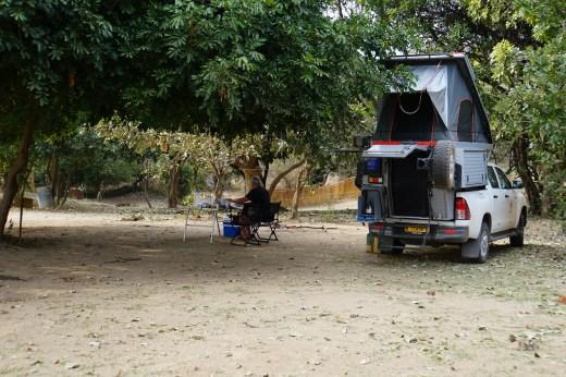 Zikomo camp site