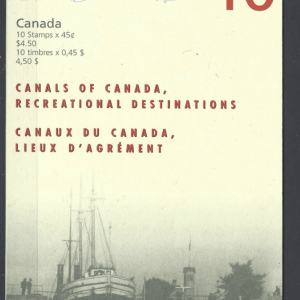 SG 1795a booklet. Unmounted Mint. Canada