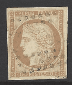 French general Colonies, SG 15
