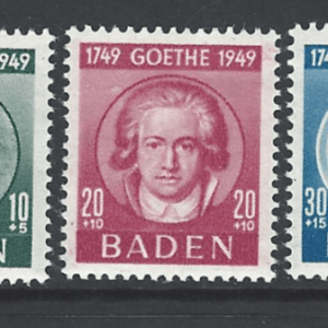 SG FB47-9. Baden. Mounted Mint.