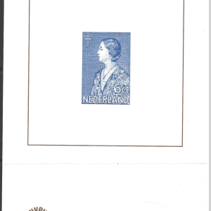 NVPH Catalogue, Blue Print Number 13, Unmounted Mint