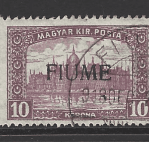 SG 20, Fiume Stamps, European Stamps