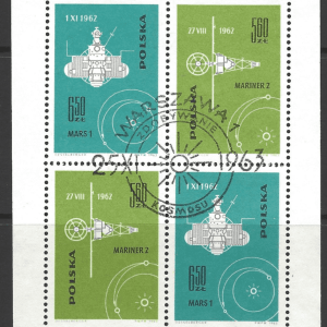 SG MS1432a, Poland Stamps