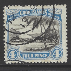 SG 103b. Perf 14x13. Cook Islands Stamps