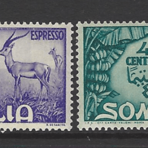 SG E225-6. Unmounted Mint. Somalia Stamps