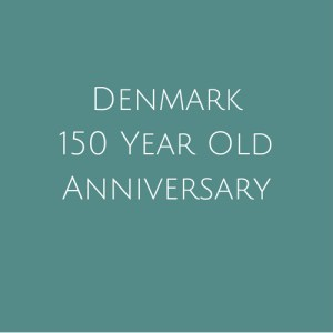Denmark 150 Year Anniversary Stamps