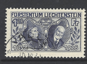 SG 88, Liechtenstein Stamp