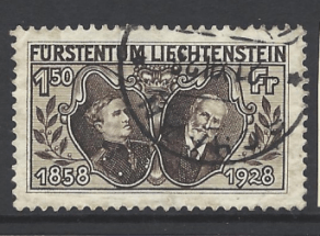 SG 89, Liechtenstein Stamp