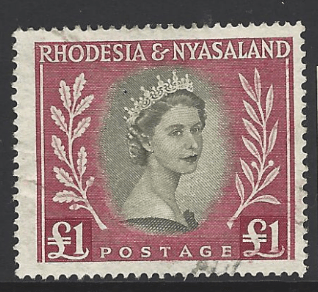 SG 15. Rhodesia and Nyasaland