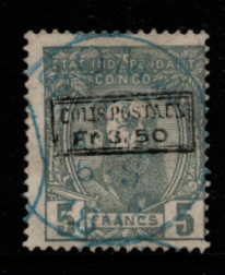 Belgian Congo SG 17 Fine Used Stamps, Belgian Congo Fine Used Stamps,