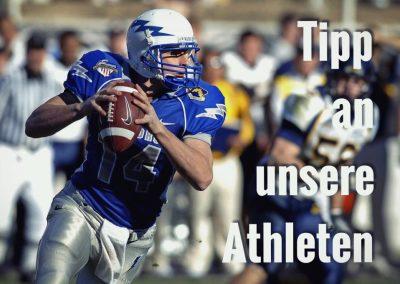 Tipp an unsere Athleten