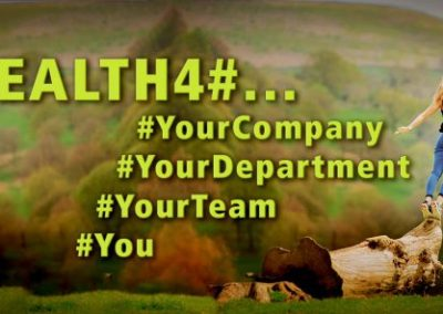 HEALTH4# – Vorstellung der Vortragsreihe