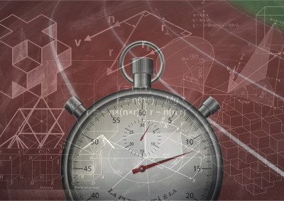 Über Mathe, Sport und Zeit