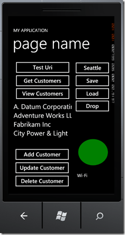 Windows Phone 7 Line of Business App Dev :: Improving the In-Memory Database