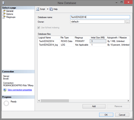 how to create wide table in sql server