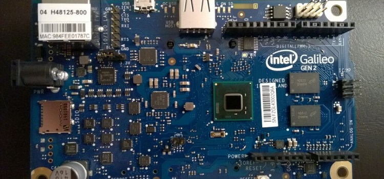 intel galileo download
