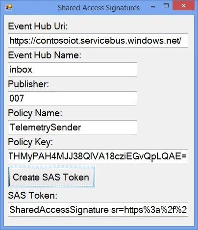 SAS Form