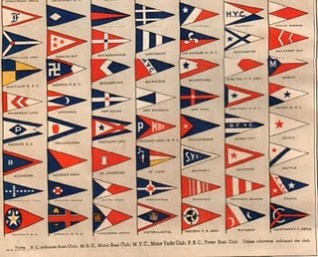 Yacht Club Flag Reference 1914 Yacht Club Flags United