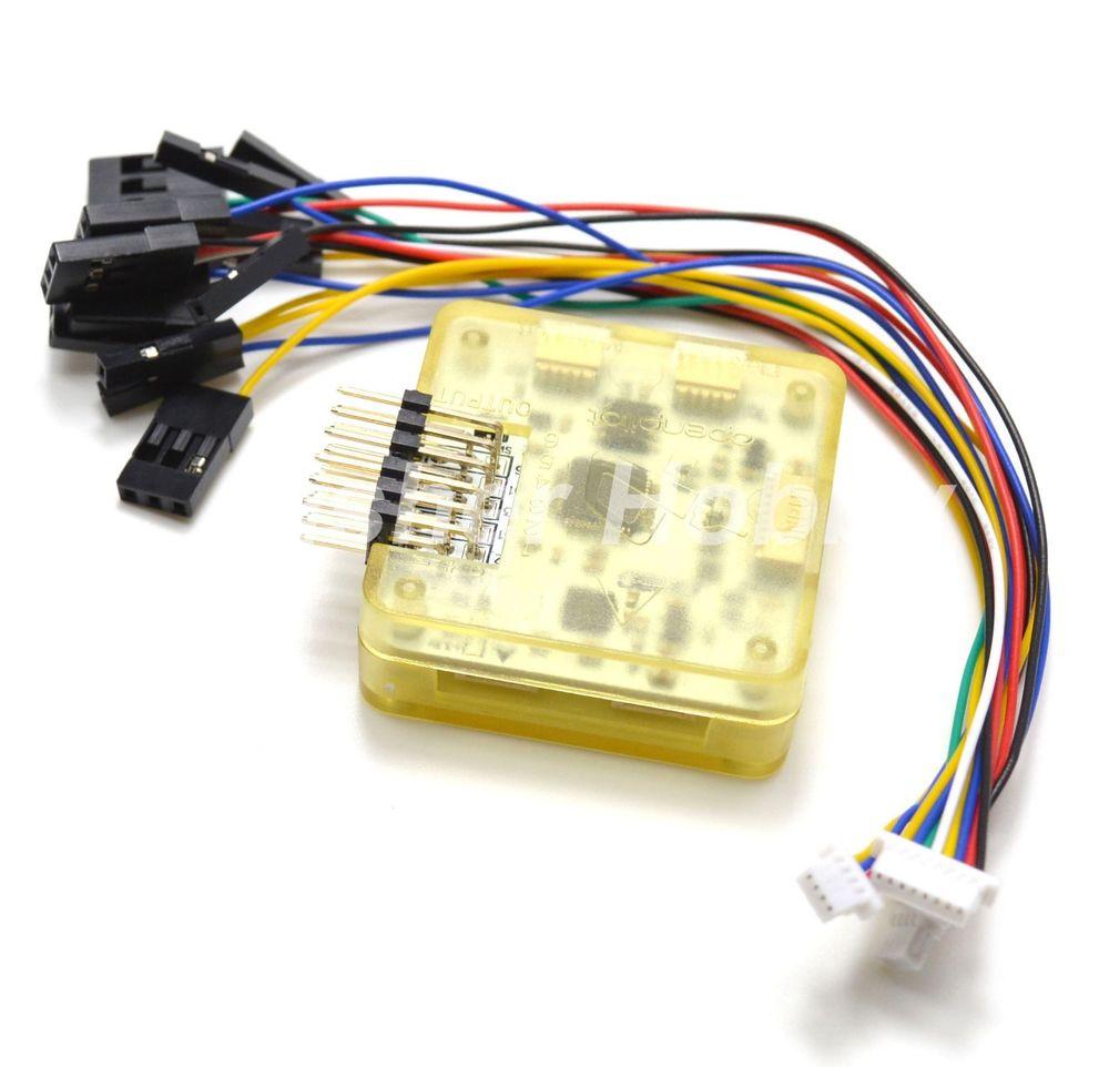 medium resolution of openpilot cc3d evo flight controller with side pins