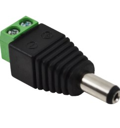 male female 2 1 5 5mm for dc power jack adapter connector plug for cctv [ 1600 x 1600 Pixel ]