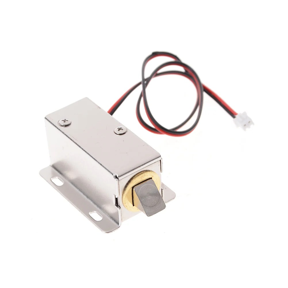 hight resolution of dc 12v cabinet door lock electric lock assembly solenoid