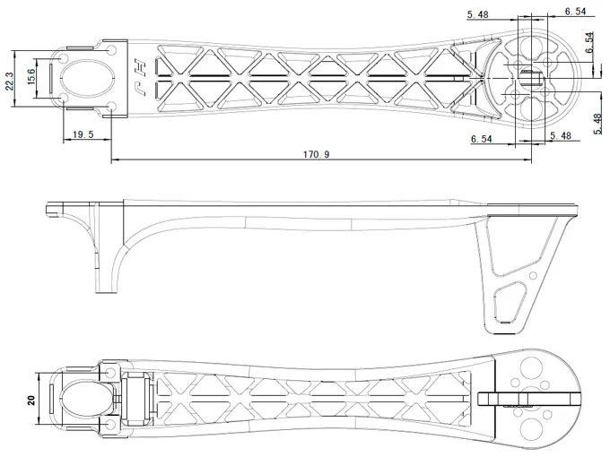 quadcopter flamewheel f450 wiring diagram