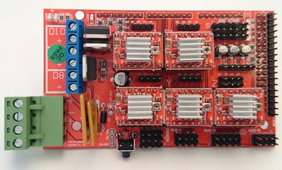 Heat Sink Wiring Diagram Ramps 1 4 3d Printer Controller Mega2560 With Cable