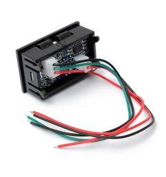 0 28 inch dc 100v 100a led digital ammeter voltmeter with shunt [ 1200 x 1200 Pixel ]