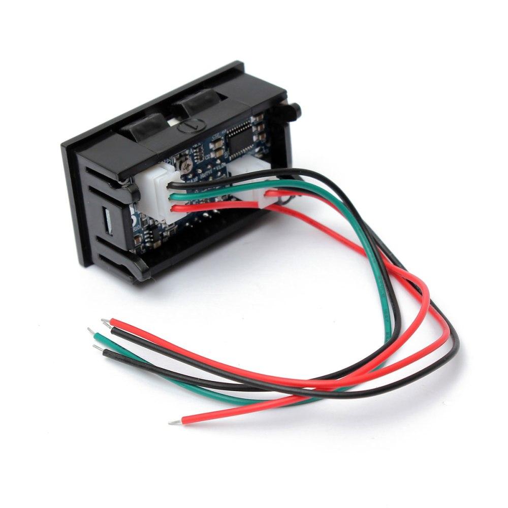 medium resolution of 0 28 inch dc 100v 100a led digital ammeter voltmeter with shunt