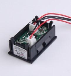 0 28 inch dc 100v 100a led digital ammeter voltmeter with shunt [ 1000 x 1000 Pixel ]