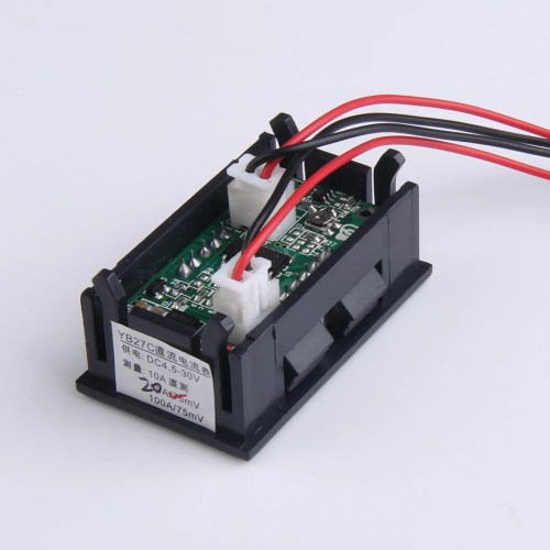 small resolution of 0 28 inch dc 100v 100a led digital ammeter voltmeter with shunt