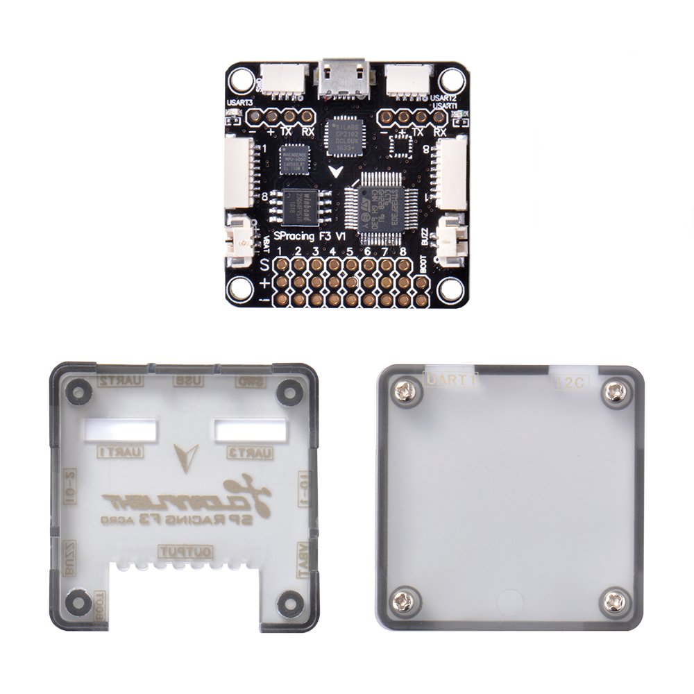 hight resolution of sp racing f3 flight controller acro version