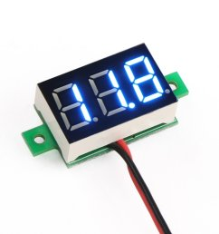 0 28inch 3 5 30v two wire dc voltmeter blue robu in indian panel volt meter wiring diagram for [ 1200 x 1200 Pixel ]