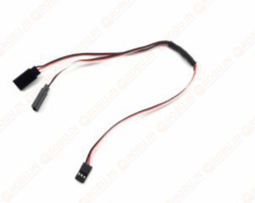 small resolution of 1jr male to 2 futaba female y type servo extension wire