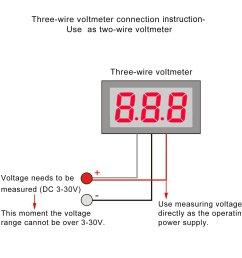 12v meter wire diagram wiring diagram rows 12v voltmeter wire diagram [ 1500 x 1500 Pixel ]