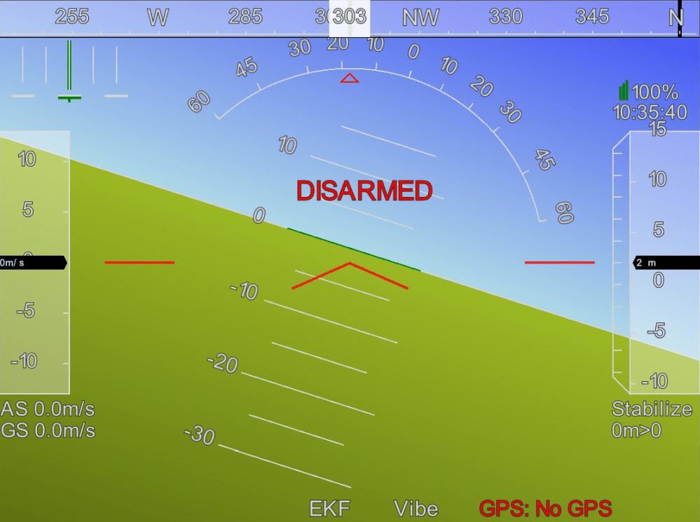 medium resolution of calibrating apm 2 8 using mission planner