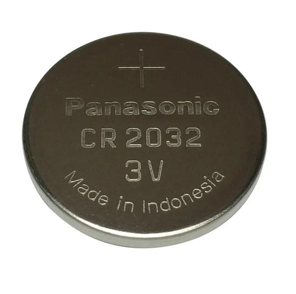 Panasonic CR2032 3V Lithium Coin Battery-2Pcs. - Robu.in   Indian Online Store   RC Hobby   Robotics