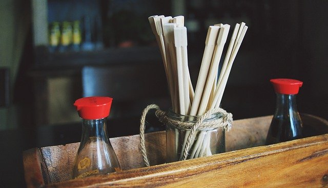 soy-sauce-containers-and-chopsticks