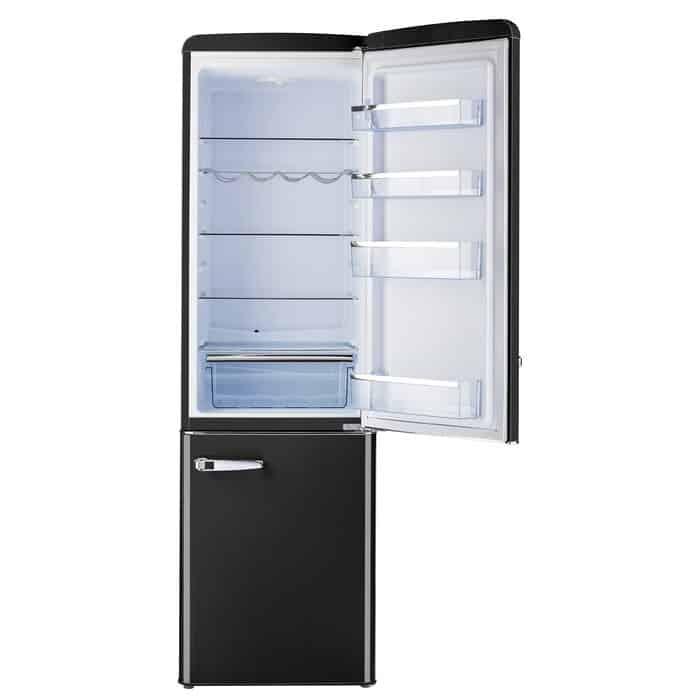 """Classic-Retro-22""""-Bottom-Freezer-Energy-Star-9-Cu.-Ft.-Refrigerator"""