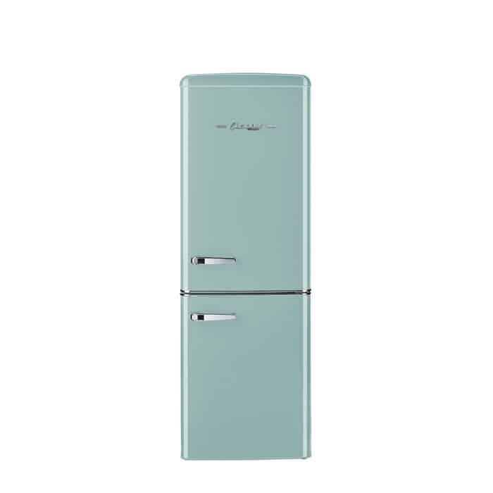 """Classic-Retro-22""""-Counter-Depth-Bottom-Freezer-Energy-Star-7-cu.-ft.-Refrigerator"""