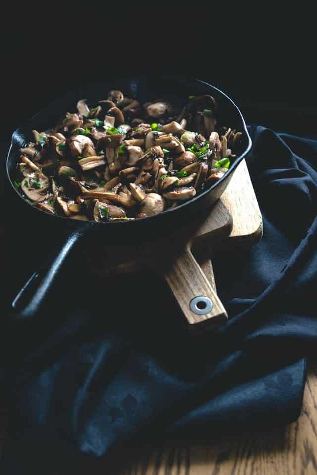 Mushrooms-Cast-Iron