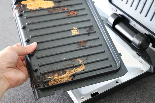 George-foreman-grill-plate-removed