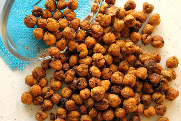 how to make indian chickpeas