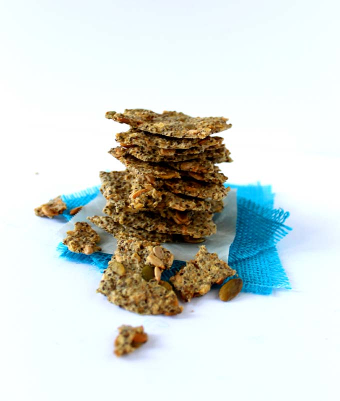 3-Seed Gluten Free Crackers