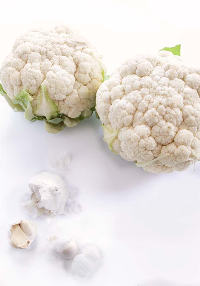 Creamy Cauliflower Sauce for Green Bean Casserole #Glutenfree